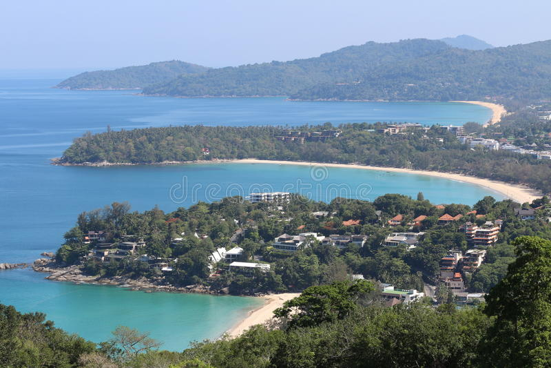 Point de vue de Phuket photos stock