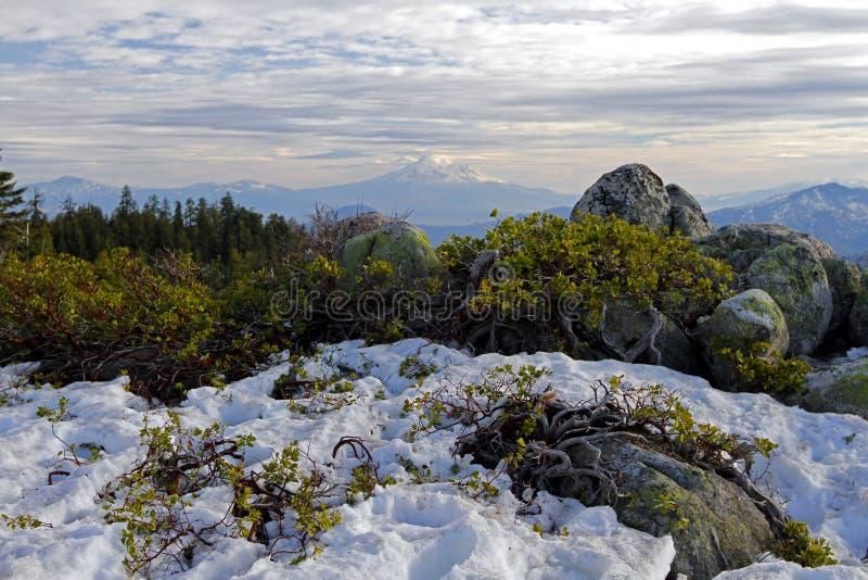 Point de vue de Shasta photos stock