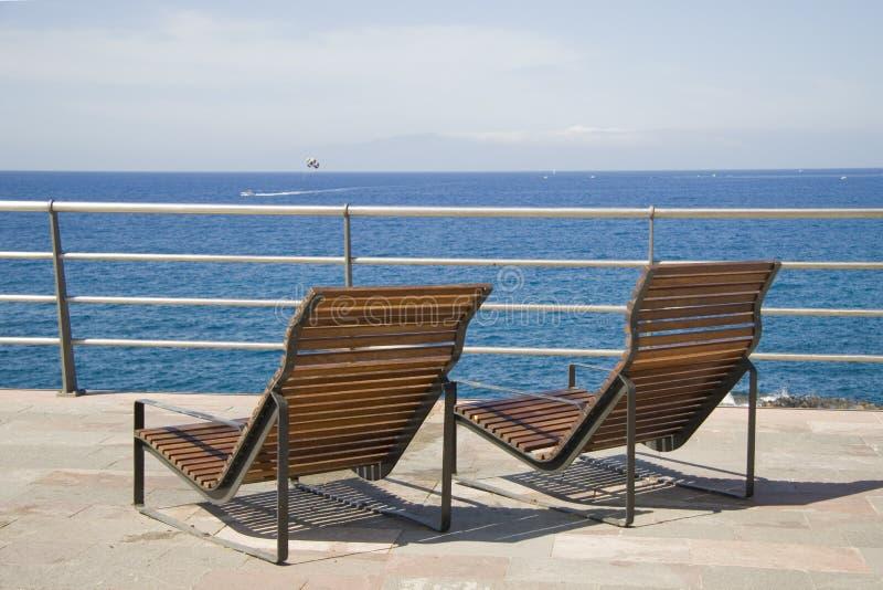 Point de vue sur l'île de Tenerife photographie stock libre de droits