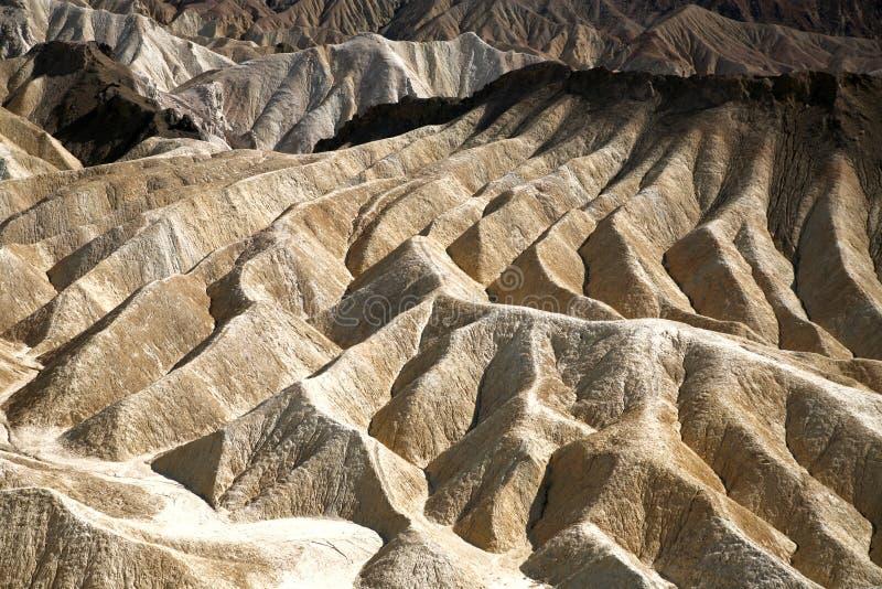 Point de Zabriskie, Death Valley, Etats-Unis photo libre de droits