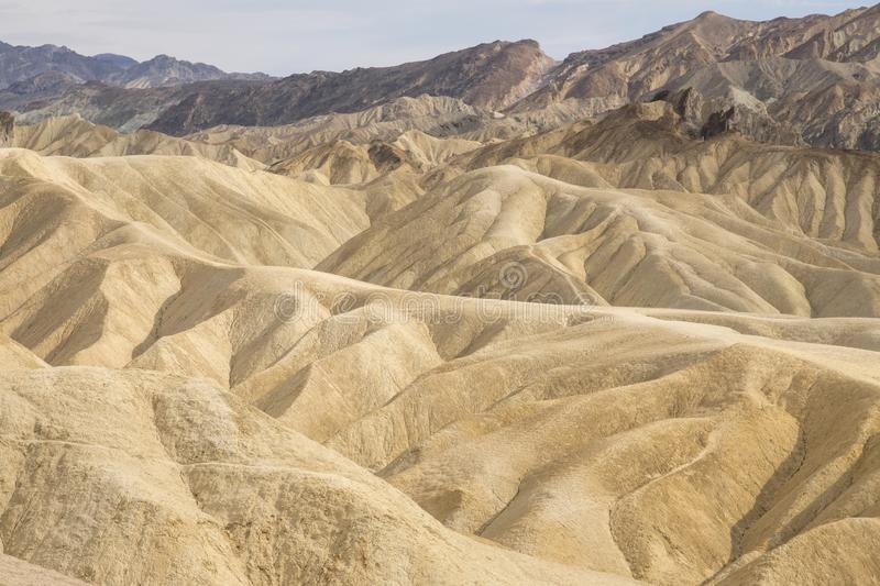 Point de Zabriskie - Death Valley N P image libre de droits
