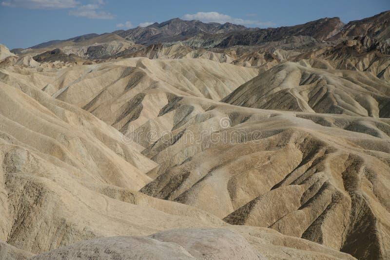 Point de Zabriskie, parc national de Death Valley, Etats-Unis images stock