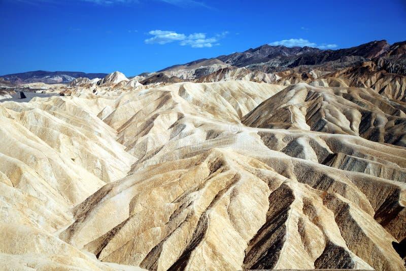 Point de Zabriskie, parc national de Death Valley, Etats-Unis, la Californie images stock
