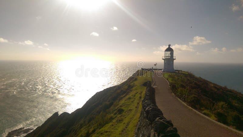 Point du nord de le Nouvelle-Zélande photos libres de droits