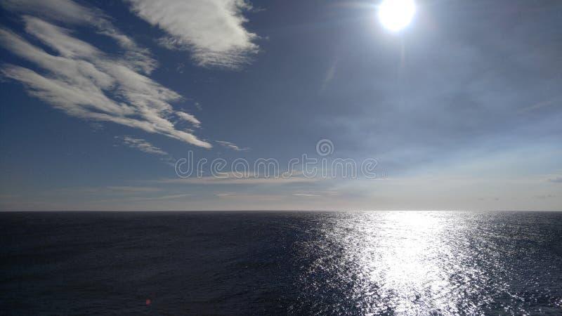 Point du sud Hawaï photographie stock