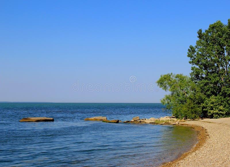 Point est, île basse du sud photo libre de droits