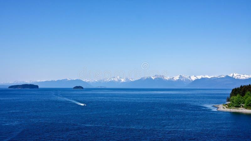 Point glacial de détroit photographie stock libre de droits