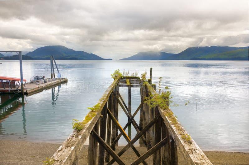 Point glacial de détroit, Alaska photographie stock