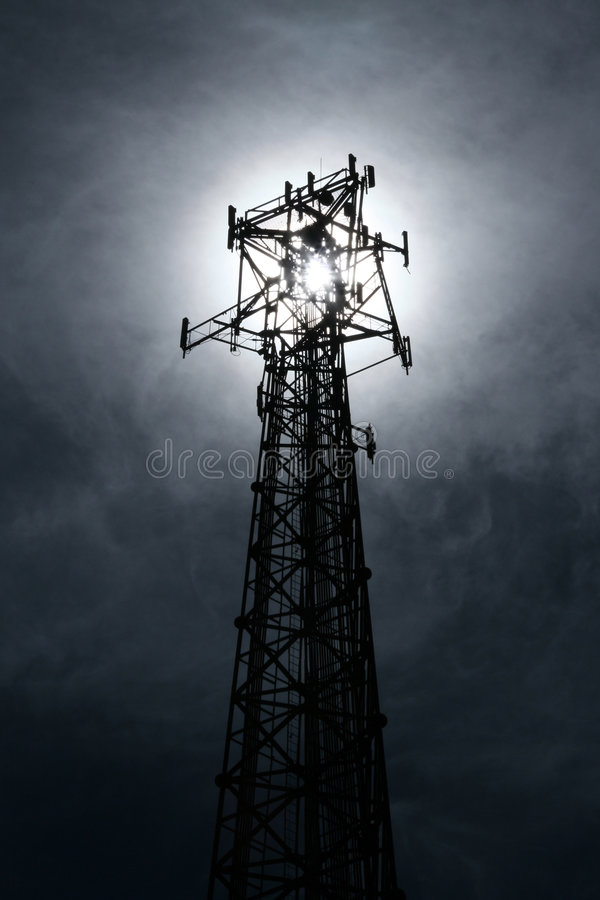 Point of light, Point of contact. stock photography