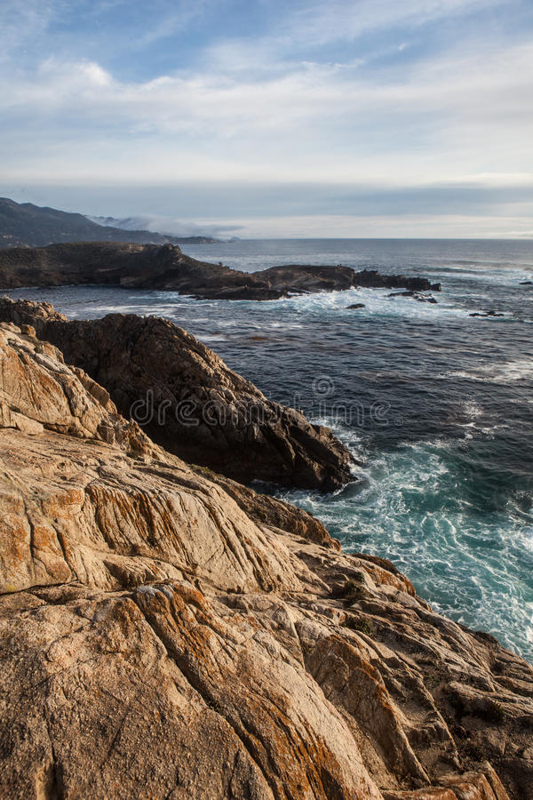Point Lobos Marine Reserve California royalty free stock image