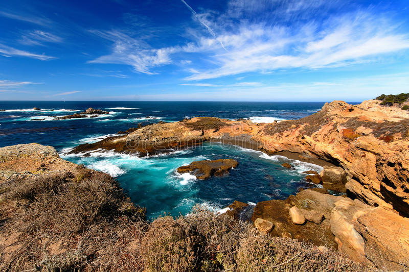 Point lobos. State reserve, California, USA royalty free stock image