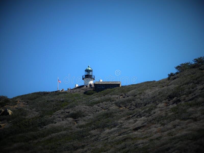 Point Loma licht huis stock fotografie