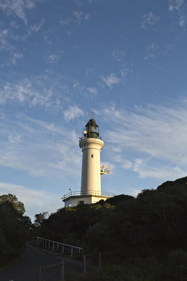 Free Point Lonsdale Lighthouse Stock Images - 58198894