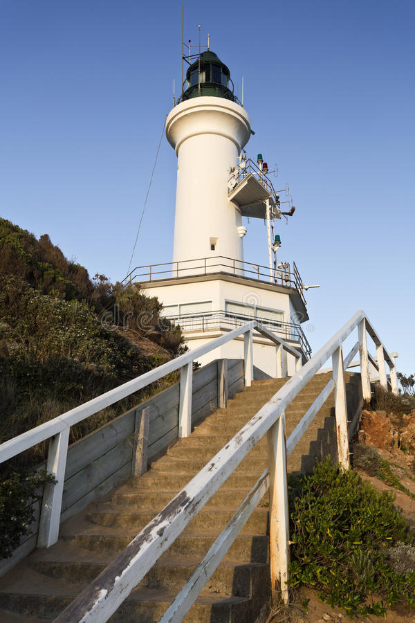 Free Point Lonsdale Lighthouse Stock Photography - 58199122