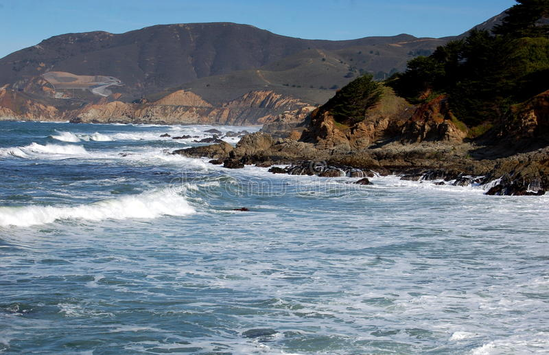 Download Point Montana, CA:  Pacific Ocean Seascape Stock Image - Image: 19500547