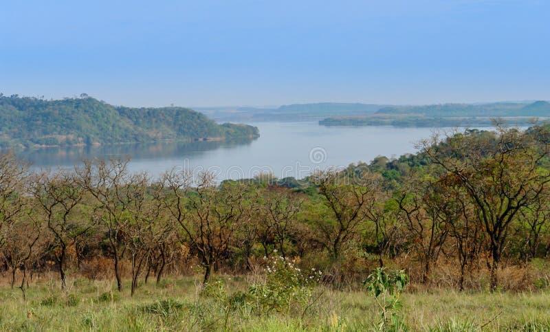 Point panoramique en Amérique du Sud images stock