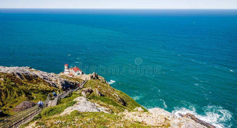Point reyes national seashore landscapes in california royalty free stock photos