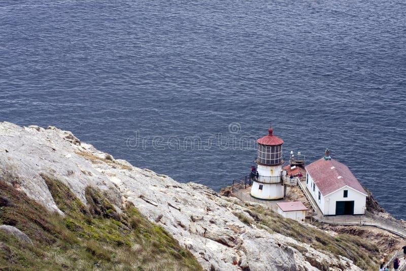 Point Reyes National Seashore Lighthouse. Lighthouse at Point Reyes National Seashore in Northern California, north of San Francisco stock image