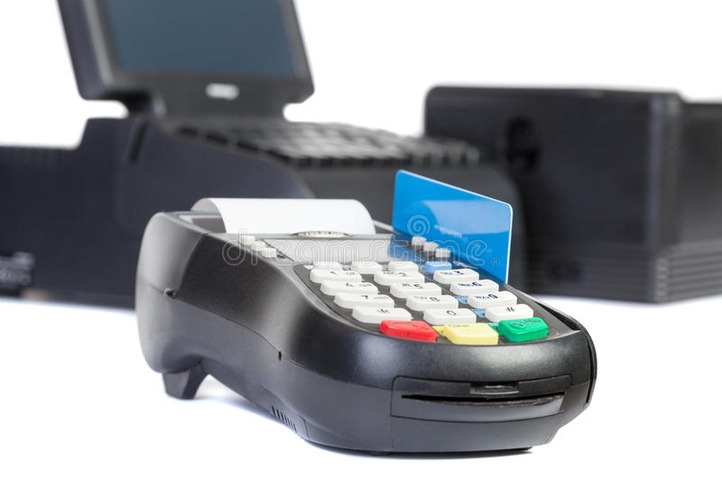 Point of Sale System. For Retail or Restaurant stock images