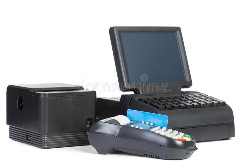 Point of Sale System royalty free stock photo