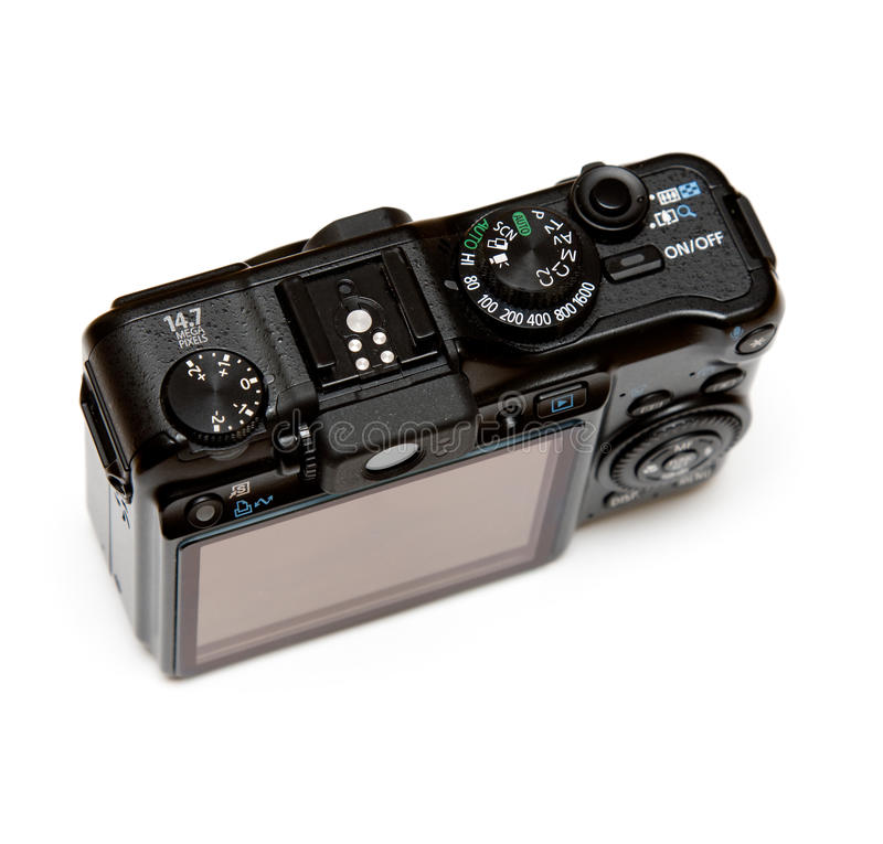Download Point And Shoot Digital Camera Stock Image - Image: 9424765