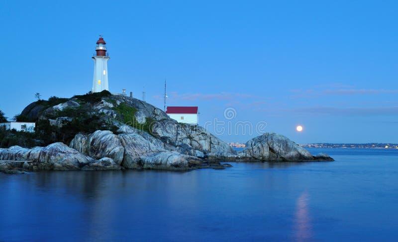 point Vancouver de phare d'atkinson occidental image libre de droits