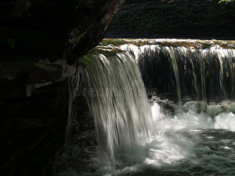 Point of View de mi cascada fotografía de archivo libre de regalías