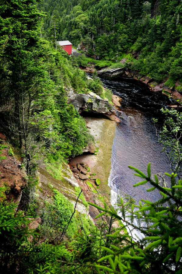 Point Wolfe River royalty free stock photos