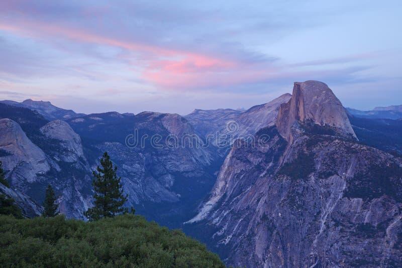 Point Yosemite de glacier photographie stock libre de droits