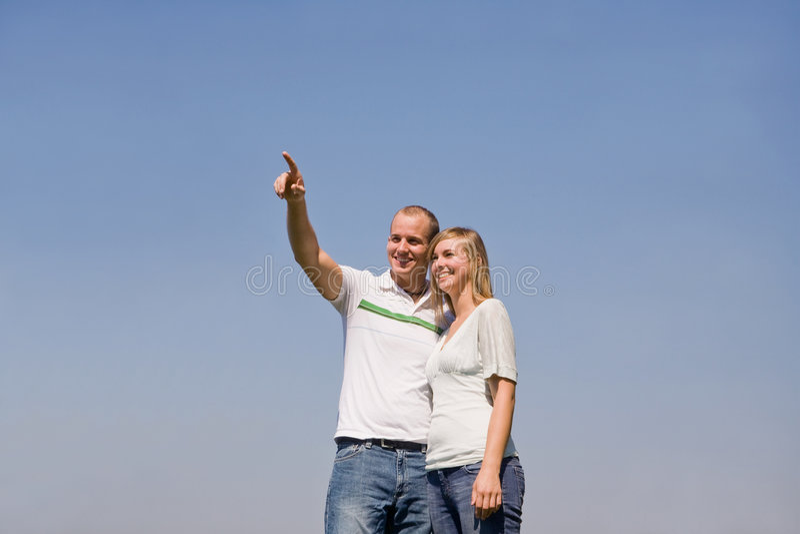 Pointage de couples image stock