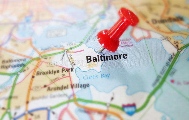 Pointe de Baltimore photos libres de droits