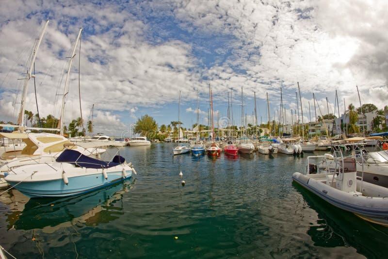 Pointe du Bout Marina - Trois-Ilets - Martinique royalty free stock photography