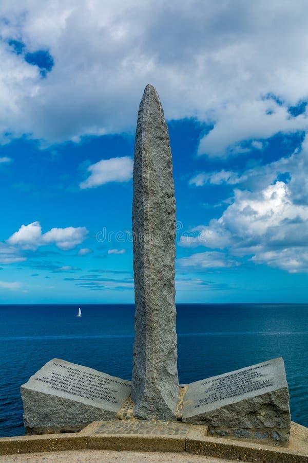 pointe Du pointe Normandy zdjęcia stock