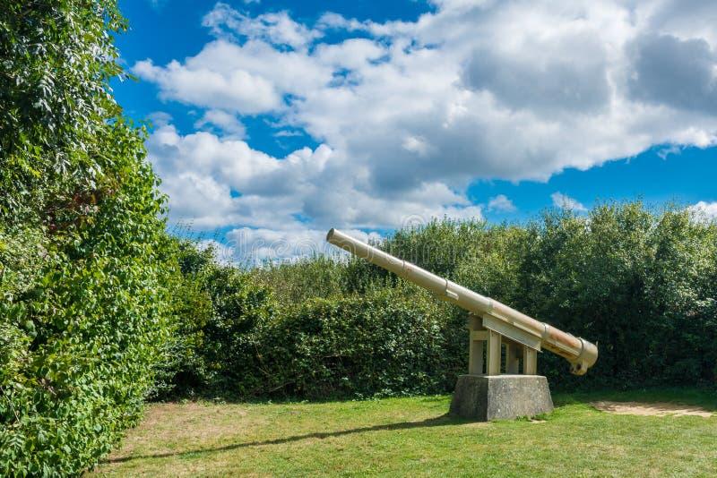 pointe Du pointe Normandy obraz stock