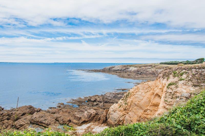Pointe Saint-Mathieu dans Plougonvelin dans Finistère photos libres de droits