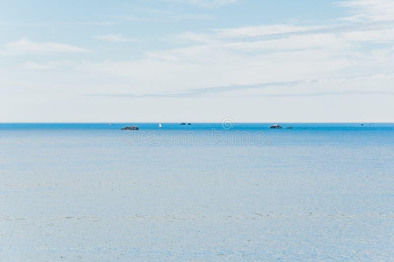 Pointe Saint-Mathieu dans Plougonvelin dans Finistère image libre de droits
