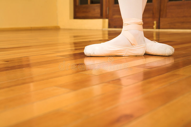 Pointe shoes #04 royalty free stock photo