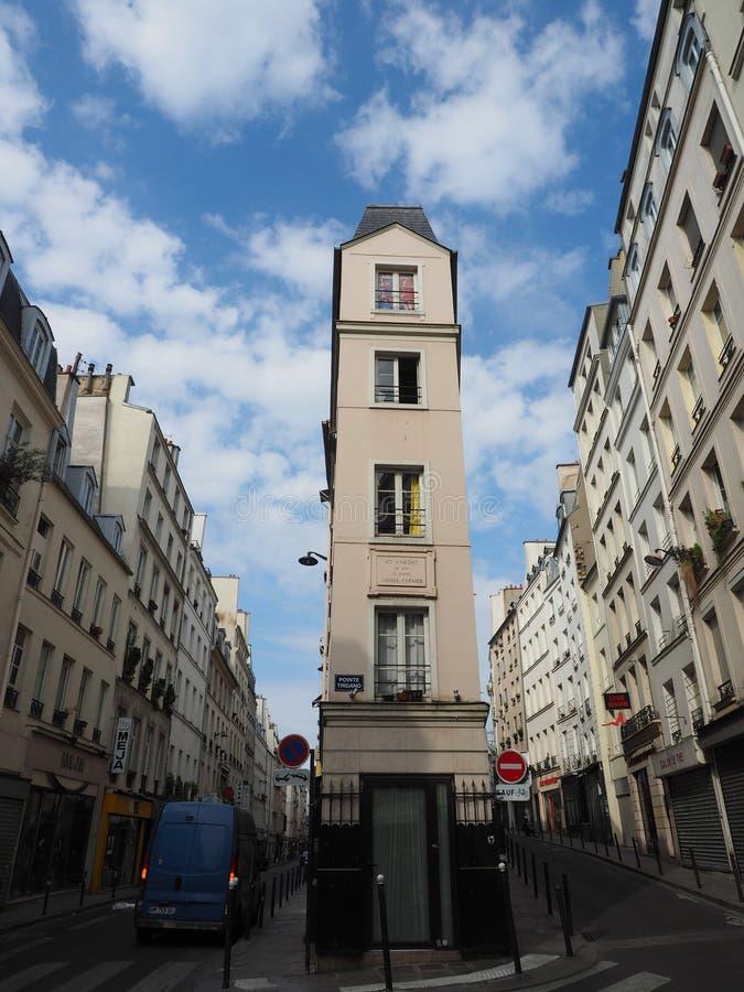 Pointe Trigano在巴黎,法国 免版税库存照片