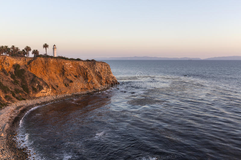 Pointe Vincente Rancho Palos Verdes California lizenzfreie stockbilder