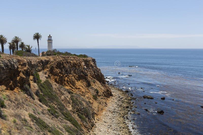 Pointe Vincente in Rancho Palos Verdes California lizenzfreies stockfoto