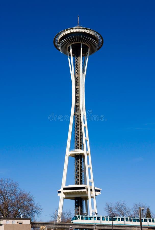 Pointeau de l'espace de Seattle photo stock