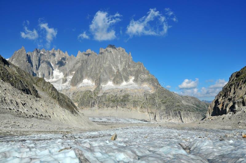 Pointeaux de Chamonix photos libres de droits