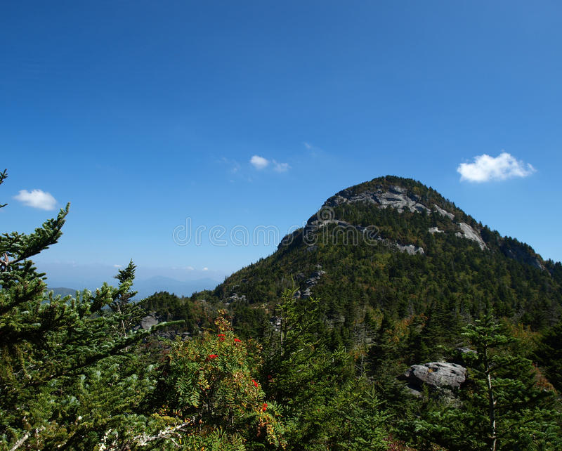 Pointed peak royalty free stock images