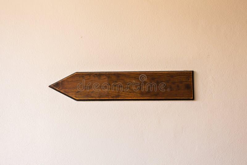 Pointer drewniana deska zdjęcie royalty free