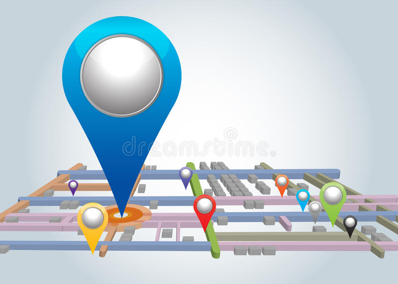 Download Pointer Icons. stock illustration. Image of abstract - 26690971