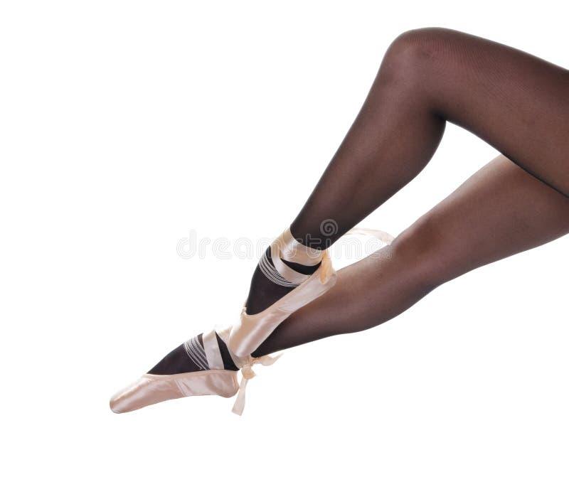 pointes ног сексуальные стоковое фото