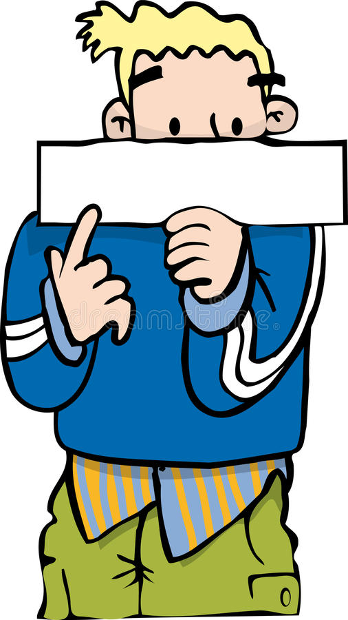 Download Pointing at sign stock vector. Image of demonstrating - 34275390