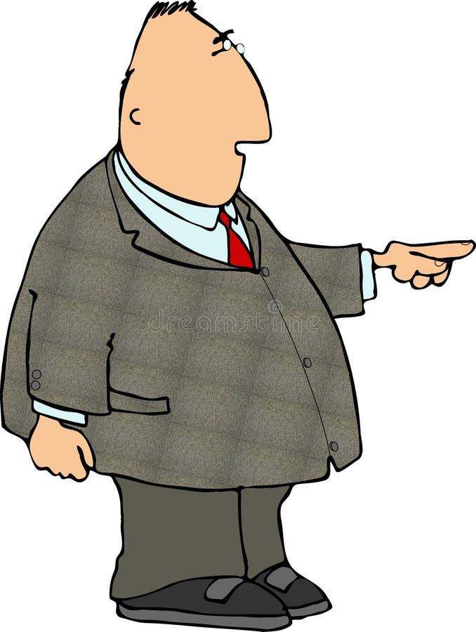 Pointman illustration libre de droits