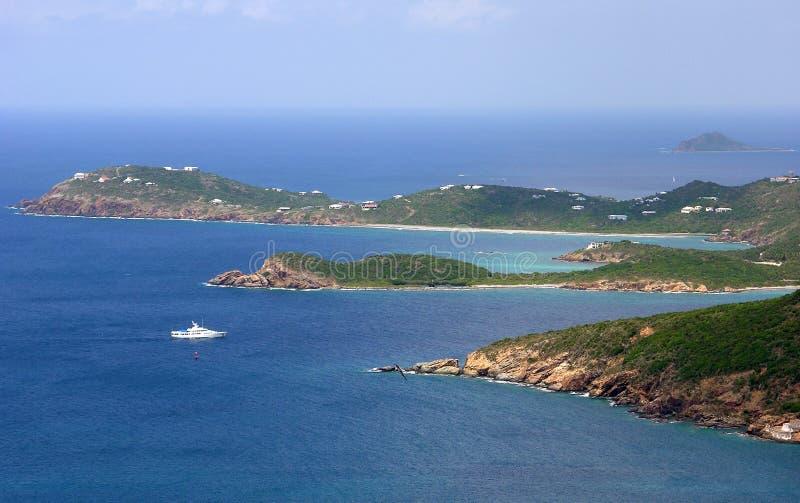 Points d'île de St.Thomas photographie stock libre de droits