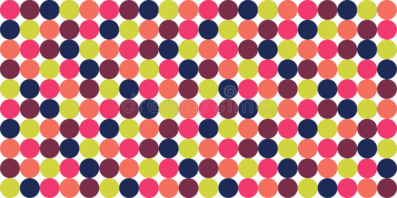 Points de polka photo libre de droits
